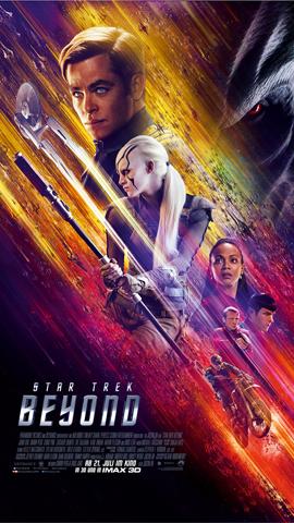 STAR TREK BEYOND - Paramount - kulturmaterial - German Poster