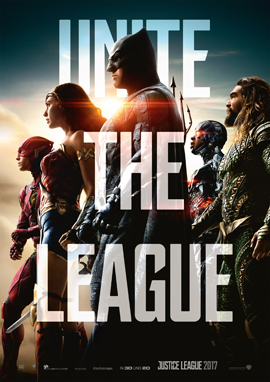 Justice League - Warner Bros - kulturmaterial