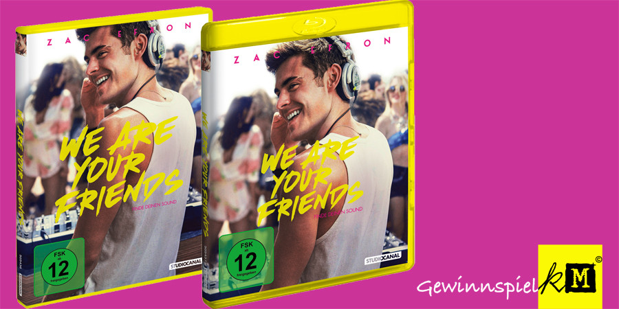 Zac Efron - We Are Your Friends - Blu-ray - Studiocanal - Title