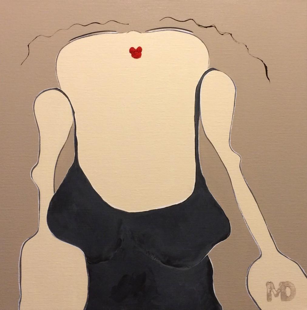 Sugar Girl 4 - Acryl - 50x50