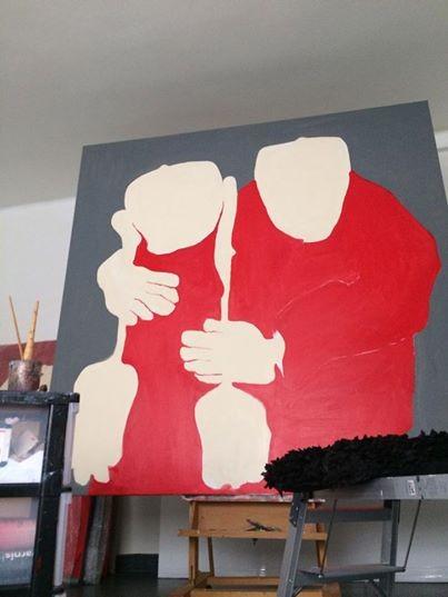 Mieke Drossaert - acryl - 200x200