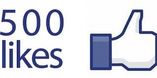 500 likes voor de fanpagina van Mieke Drossaert