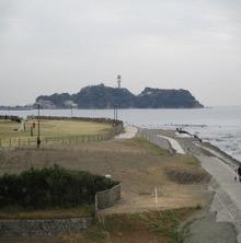 ゴール直前の江ノ島にほっ!!
