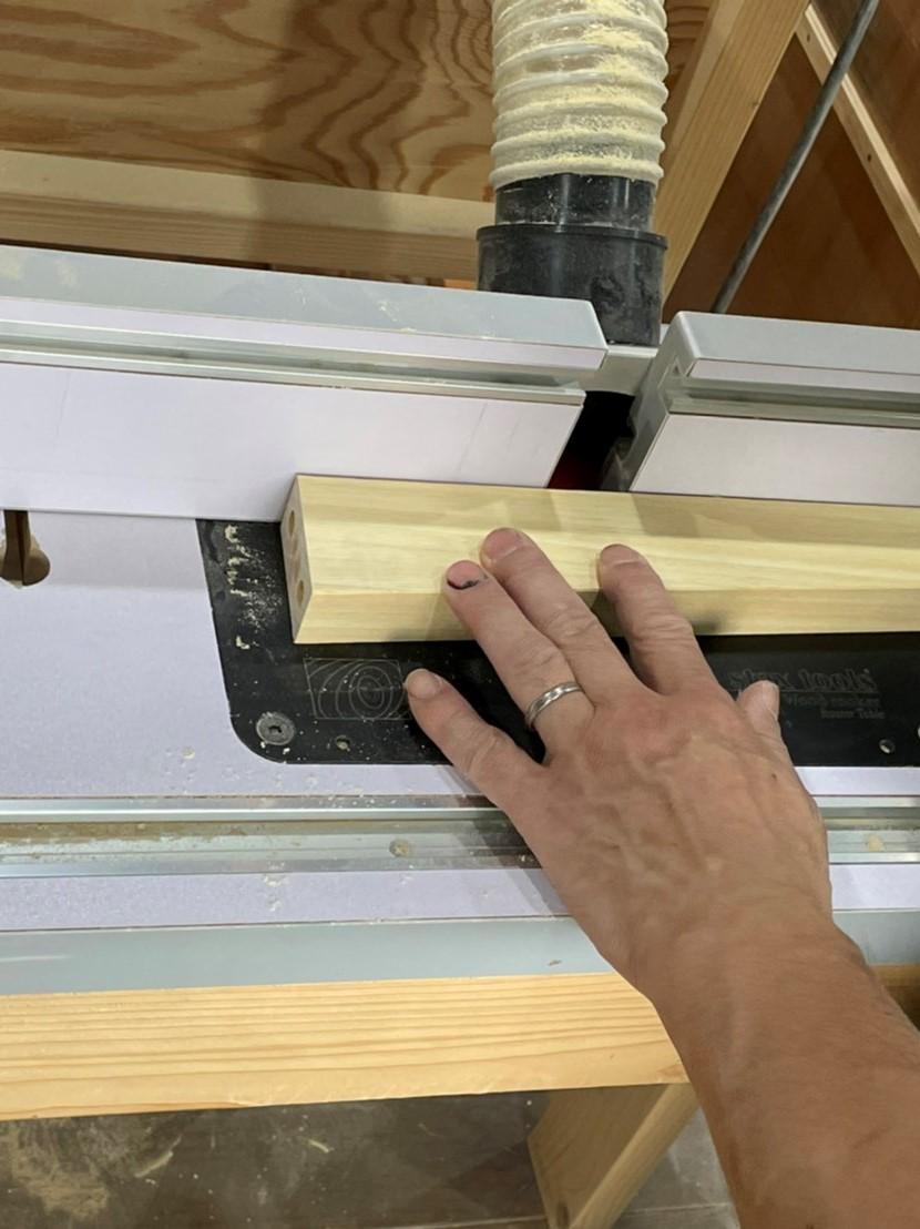 家具リフォーム・リビングテーブル脚作成