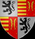 armoiries d'Arnould d'Oreye