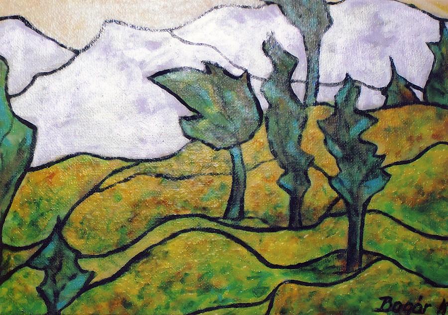 DIMBES DOMBOS (olaj-vászon, 50x70 cm)