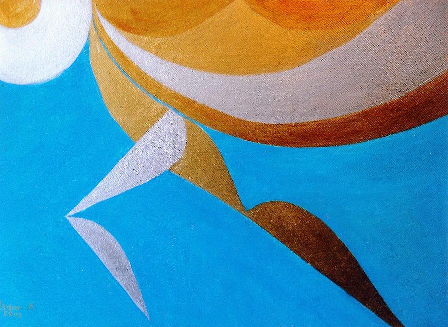 SZÖKKENÉS (olaj-vászon, 60x80 cm)