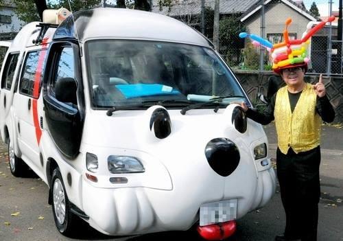 チビッコに人気のわんわんカー移動販売車!