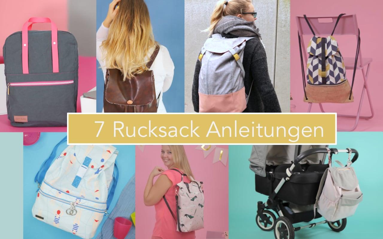 7 kostenlose Rucksack Anleitungen