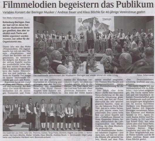 Schwarzwälder Bote vom 20.12.2011