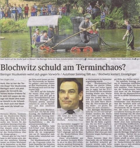 Schwarzwälder Bote vom 04.09.2012