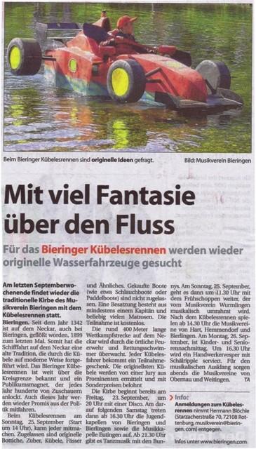 Tagblatt Anzeiger vom 14.09.2011