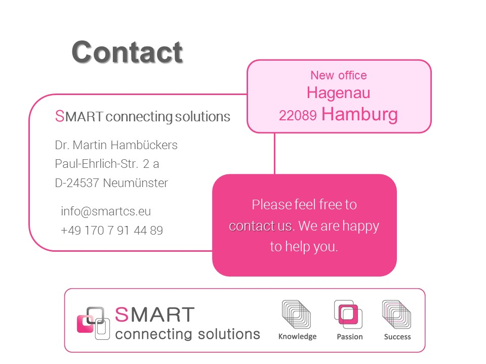 SMART connecting solutions | Scs - | Trading | Consulting | High-Tech