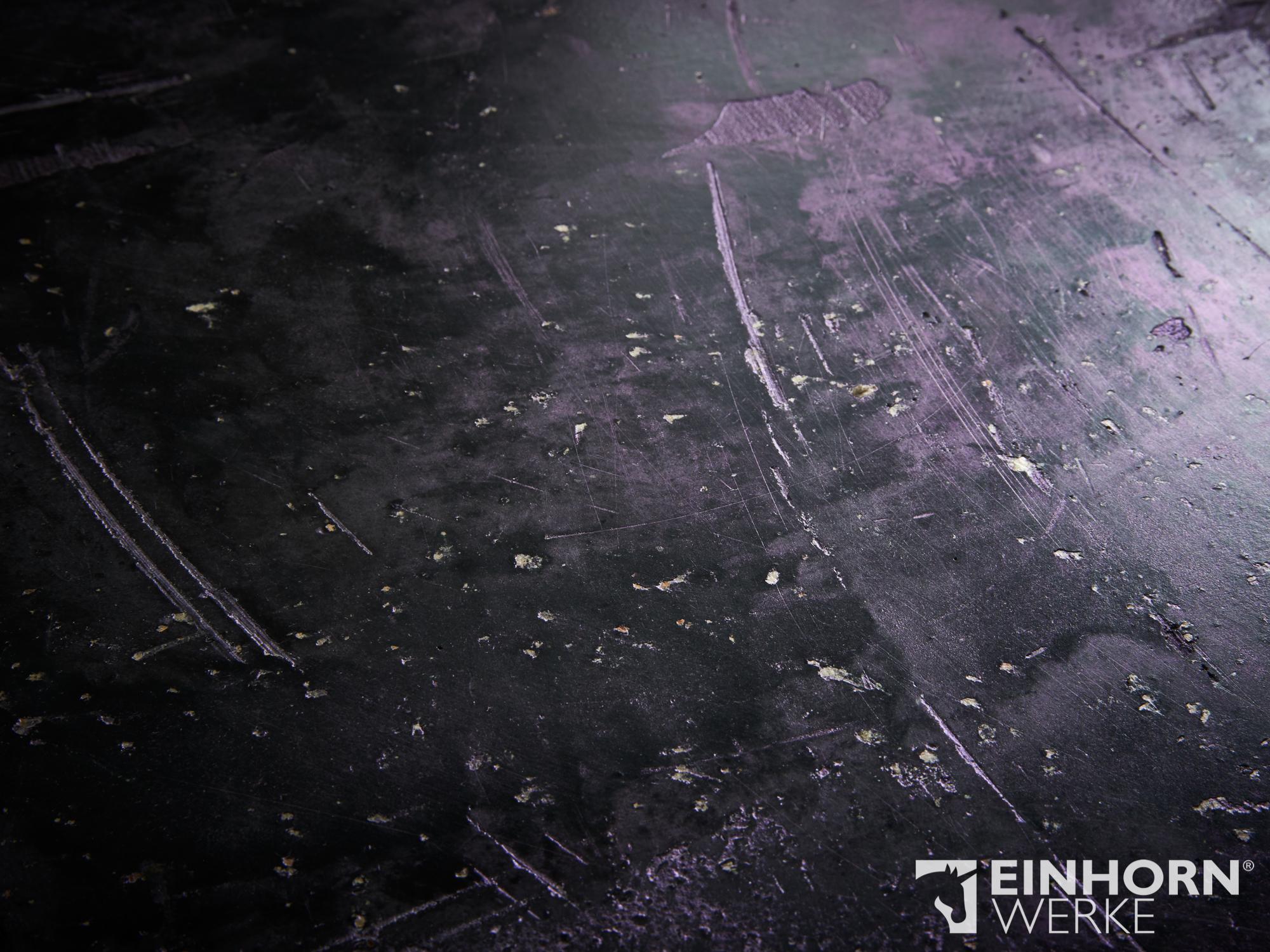 STUCCORINO 0907+ Goldglimmer fein+ STUCCORINO Amethyst + EINHORN WERKE® Wand- & Bodenöl plus. exklusive Wandgestaltung, Marmorputz, schöne Wände