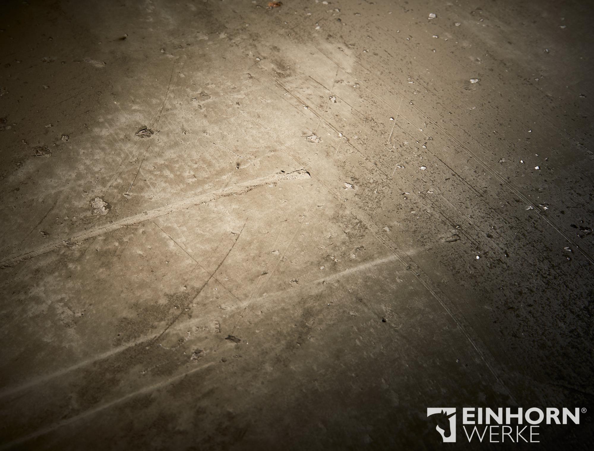 STUCCORINO 0804 + + Perlglimmer grob + STUCCORINO Fresco 0802 + EINHORN WERKE ® Wand- & Bodenöl plus - Wandgestaltung