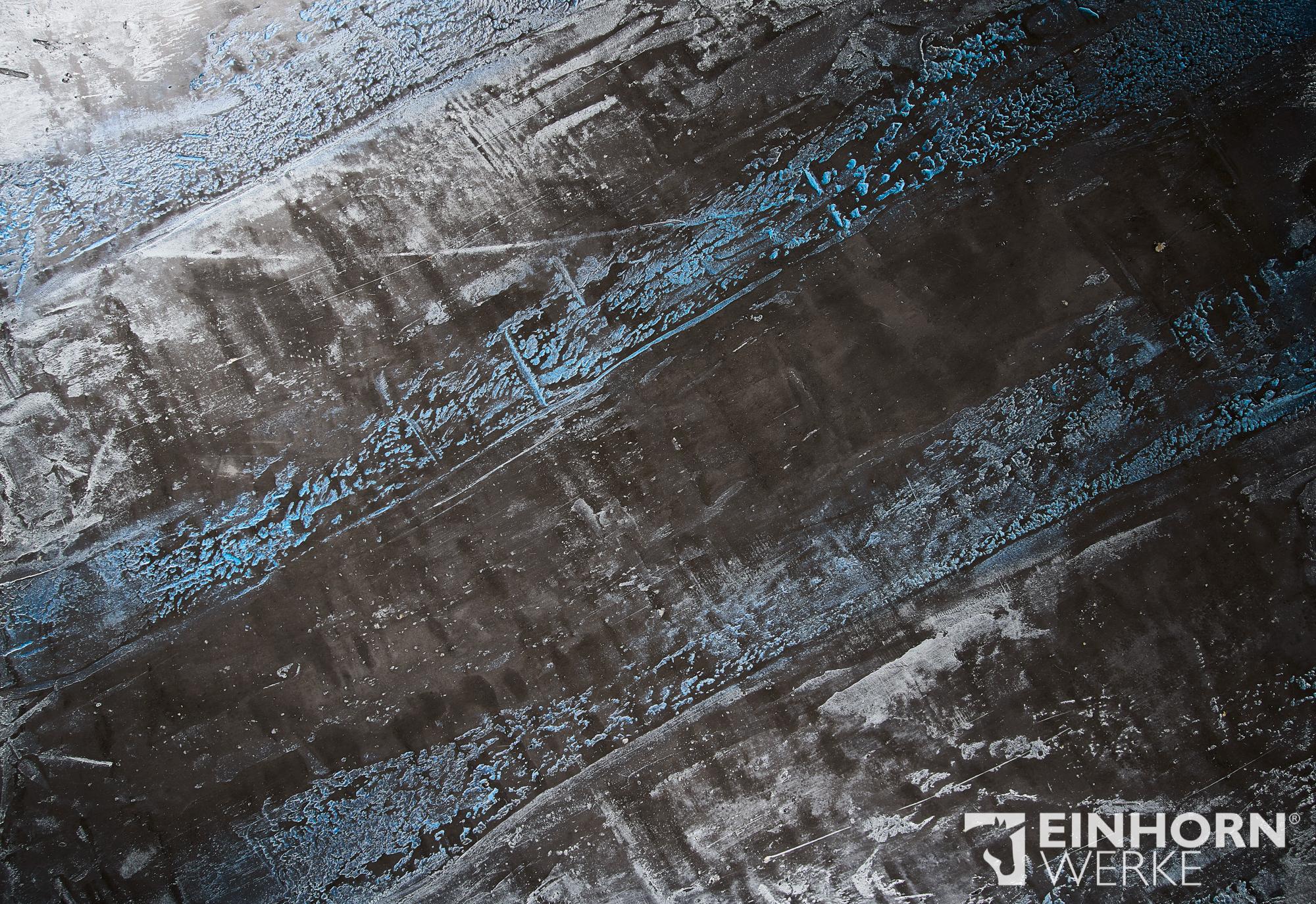 STUCCORINO 0208 + Goldglimmer mittel + STUCCORINO Effect - Silber + STUCCORINO Effect - Saphir - schöne Wandgestaltungen
