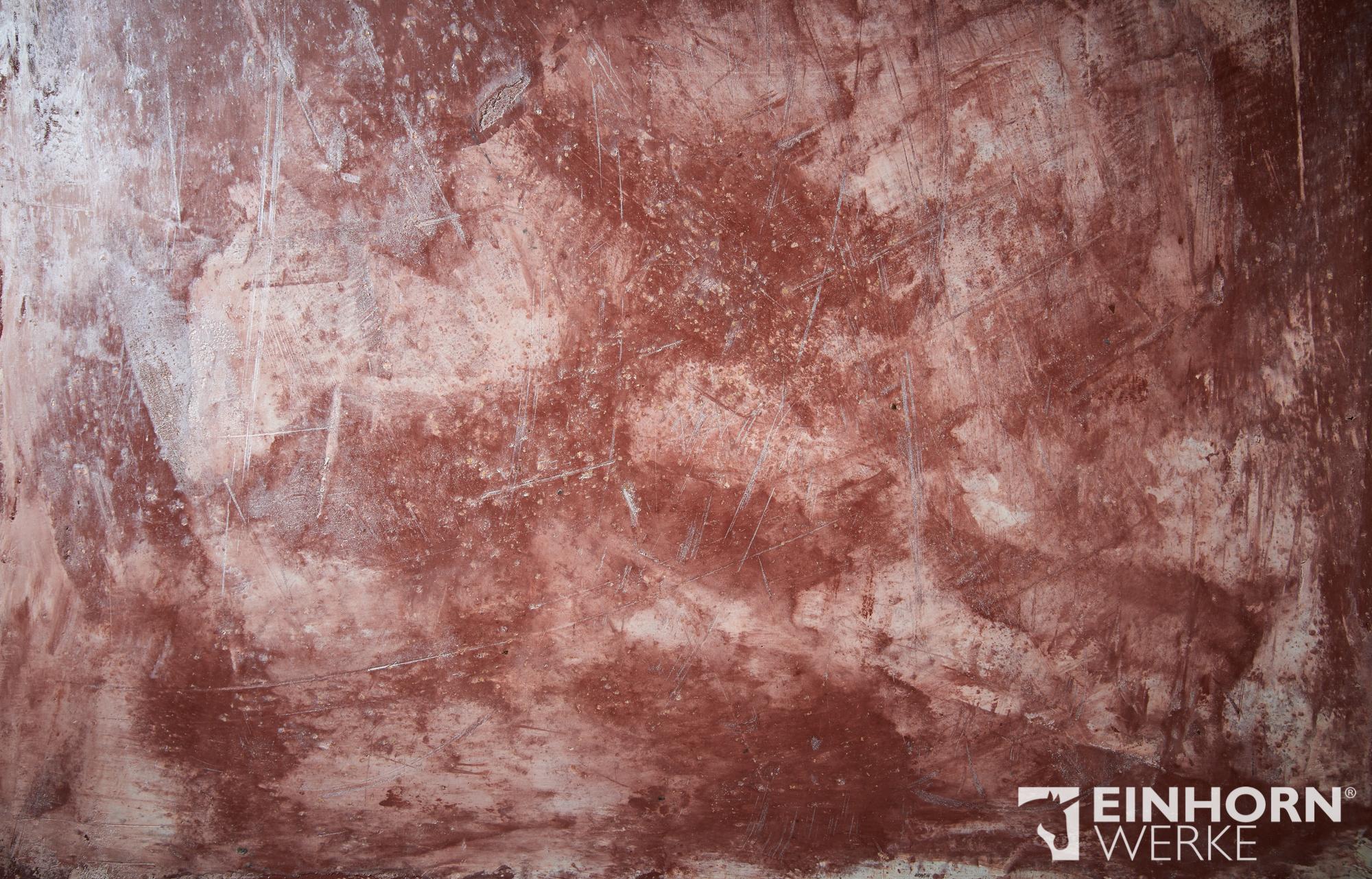 STUCCORINO 1407 + Goldglimmer fein + STUCCORINO Fresco - Natur