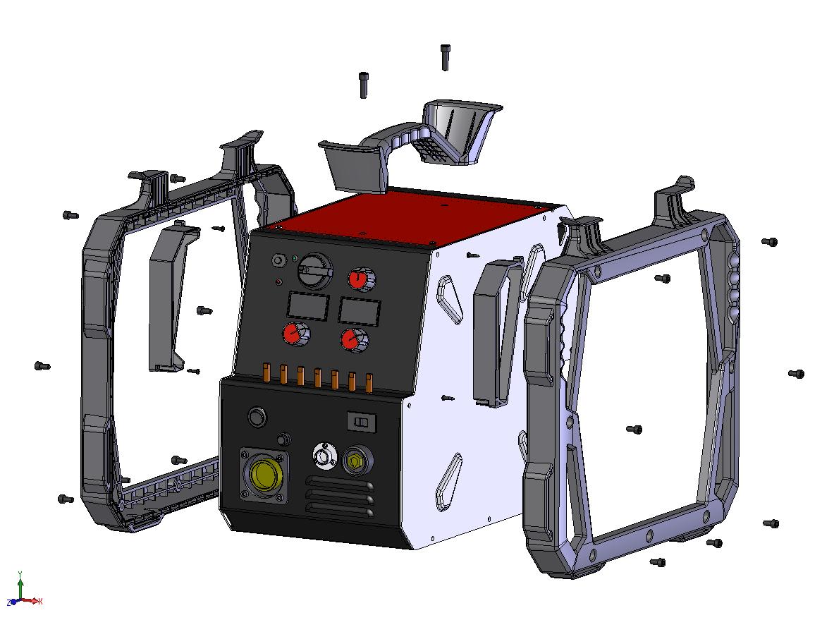 機械筐体の設計