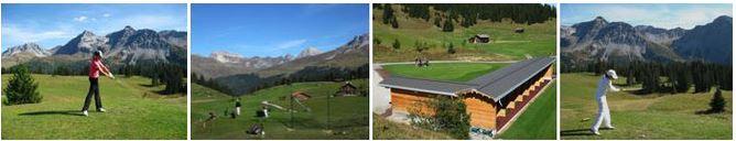 Schönster Golfplatz in den Schweizer Alpen