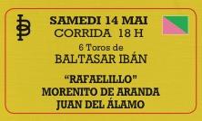 Rafaelillo remplacé par Curro Diaz