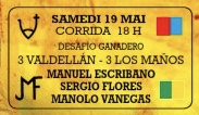 Manuel Escribano Sergio Flores Sebastian Ritter Valdellan Los Maños