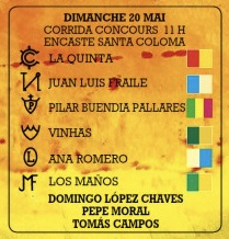 Domingo Lopez Chaves Pepe Moral Tomas Campos La Quinta San Martin Pilar Buendia Pallares Christophe Yonnet Ana Romero Los Maños