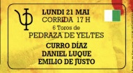 Curro Diaz Daniel Luque Emilio de Justo Pedraza de Yeltes