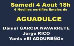 Novillos d'Aguadulce pour Navarrete, Rico et El Adoureno