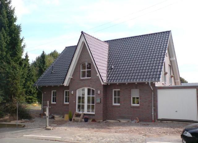 Einfamilienhaus im norddeutschen Baustil, Standort Wuppertal.