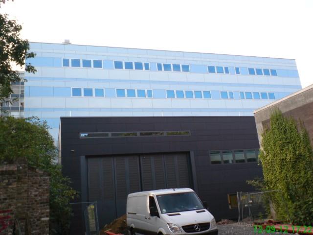 RWTH Aachen, FB Maschinenbau, Ansicht von Süd