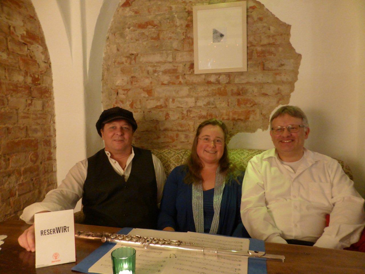 Mimi, Carina Dorka und Bob