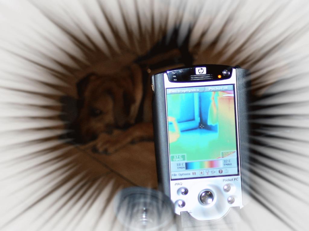 Gebäudethermografie mittels EZ-Therm IR-Kamera