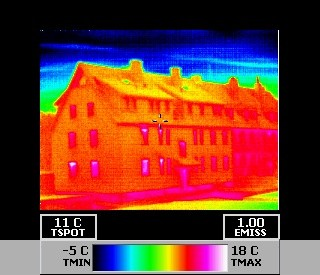 Gebäudethermografie Baden-Württenberg (Bw) - Einfamilienhaus, Mehrfamilienhaus und Industrieanlagen