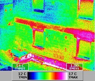 Gebäudethermografie für Vorbereitungen einer energietechnischen Sanierung (z.B.: Stuttgart)