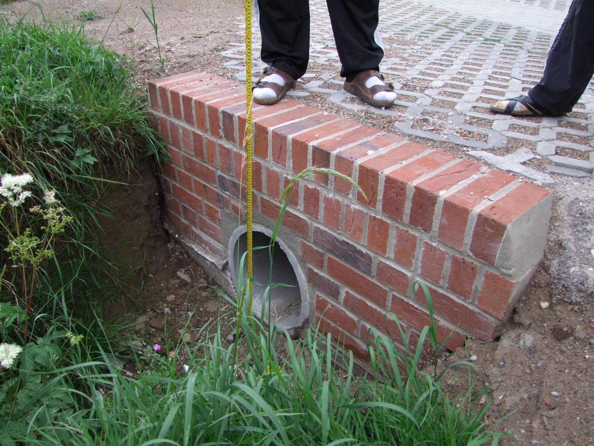 Bewertung und Ermittlung von Entwässerungsfehler - Schmutzleitungen und Regenentwässerung (Kanalbau)