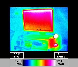 THermografie von elektrischen Geräten - Wartung / Kontrolle