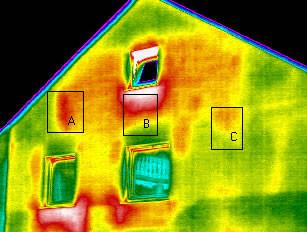 Wärmeverluste sichtbar machen  Bauexperte Stuttgart Pforzheim Ludwigsburg Böblingen Sindelfingen Göppingen Mannheim Karlsruhe Schwarzwald