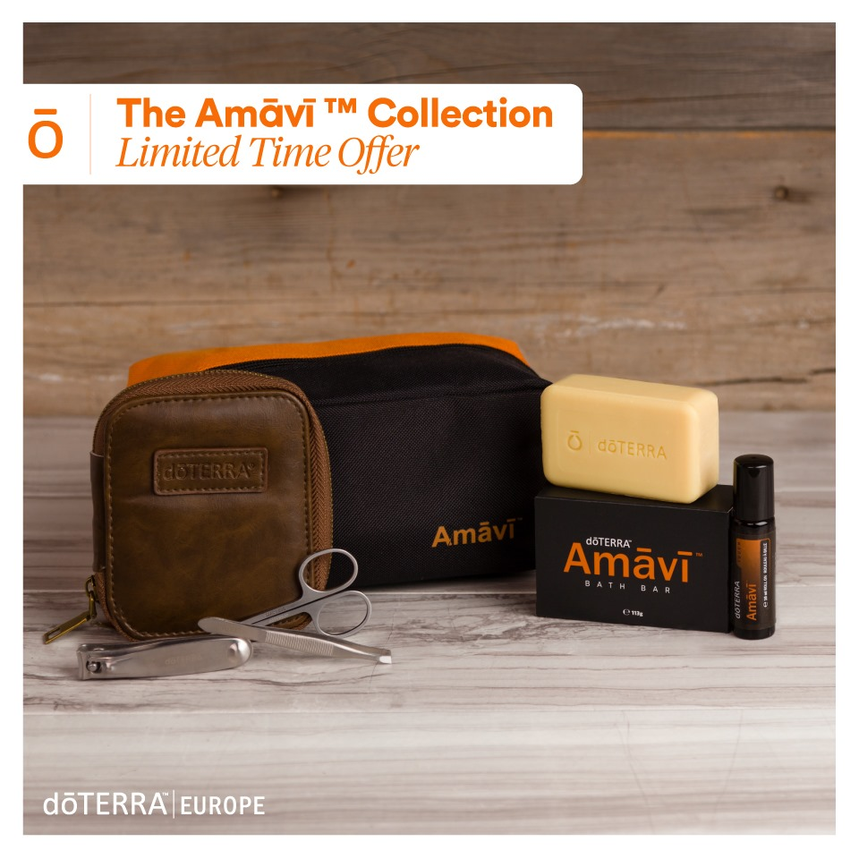 Amavi: Waschset für Männer