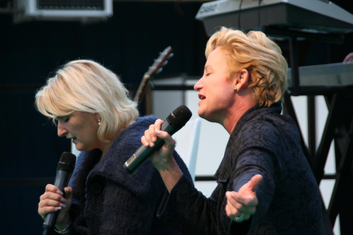 Heidi Baker et Josiane Trachsel