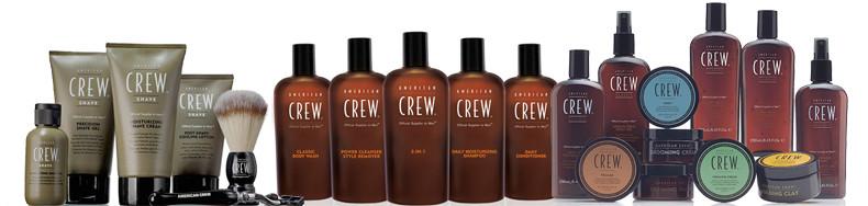 Die Pflegeprodukte von American Crew und Paul Mitchel gibts bei Coiffure Liotta zu kaufen