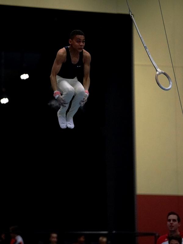 Sortie double salto