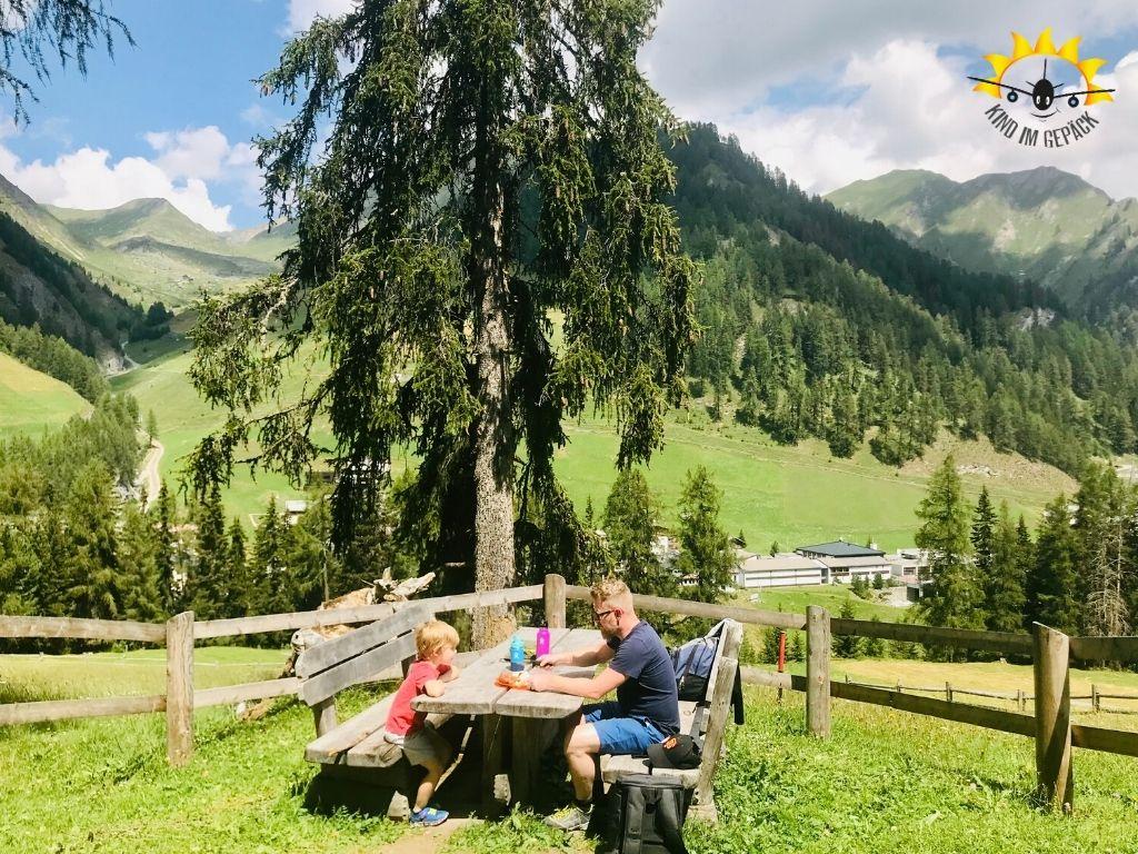 Schweiz: Samnaun im Sommer