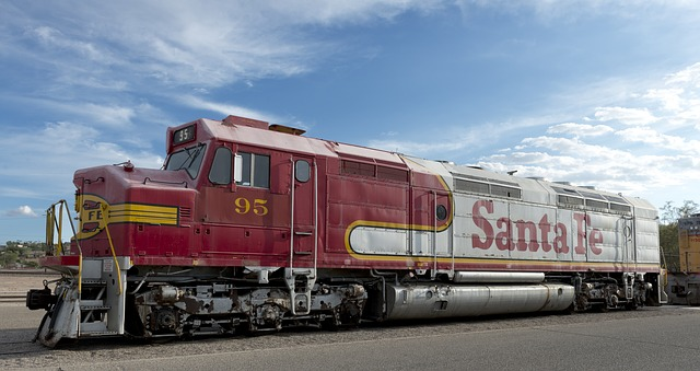 Santa Fe Rail Runner Express.
