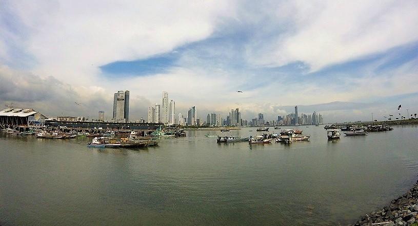 Die Skyline von Panama.