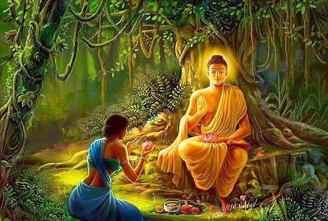 10 заповедей от Будды