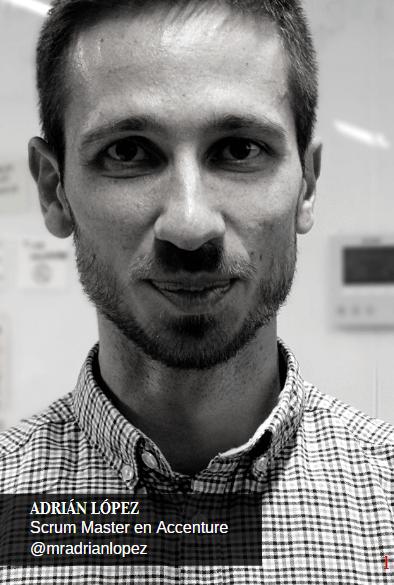 Adrián López Scrum Master en Accenture