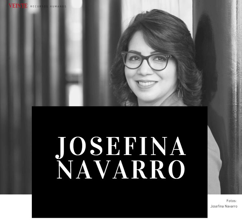 Josefina Navarro Revista Veinte RRHH