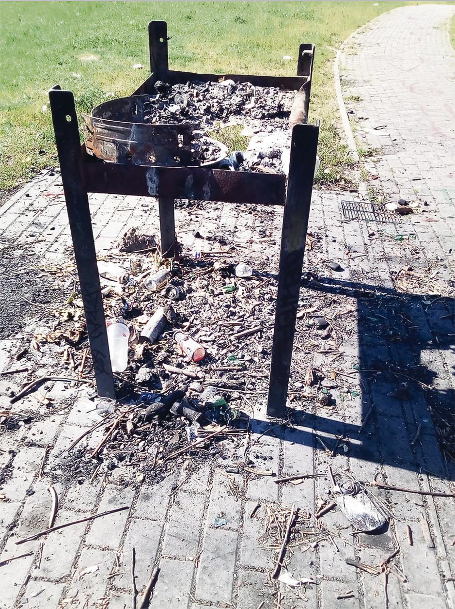 Der Grillplatz wurde bereits mehrfach komplett zerstört.