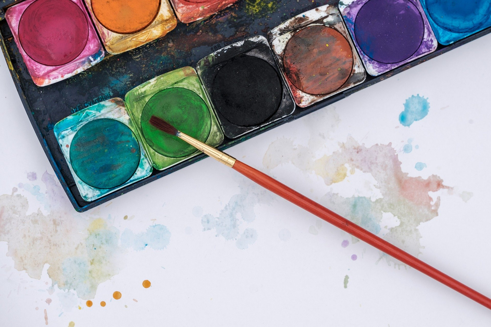 Malen, basteln, puzzlen, konstruieren  © Bru-nO, Pixabay
