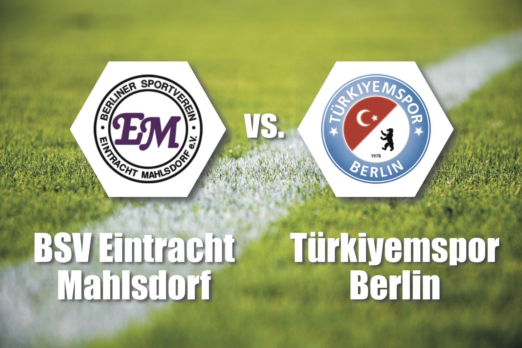 Tipp 13: 2. Spieltag in der Berlin-Liga. Eintracht Mahlsdorf empfängt Türkiyemspor. So, 18.8., 14.15 Uhr, Am Rosenhag, Melanchthonstraße 52 D, 12623 Berlin